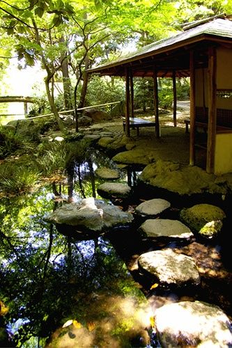 Charming Japanese Garden, Rikugi En, Tokyo Should We Build This Kind Of A Garden  Structure As A Focal Point?