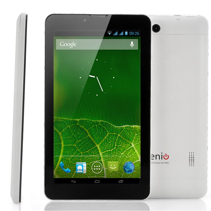 7 Inch Dual SIM Android 3G Tablet (Dual Core 1GHz CPU, 1GB RAM, 16GB ROM)