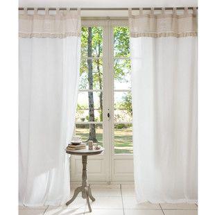 voir cette pingle et duautres images dans curtains par astruds maisons du monde with brise bise. Black Bedroom Furniture Sets. Home Design Ideas