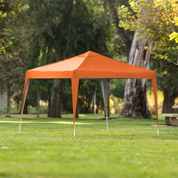 Best Choice Products 10x10ft Outdoor Portable Adjustable Instant Pop Up Gazebo Canopy Tent W Carrying Bag Tan Walmart Com In 2020 Pop Up Canopy Tent Canopy Outdoor Canopy Tent
