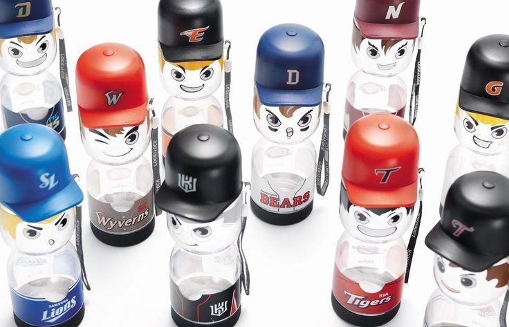 Lock & Lock Korean Baseball KBO League Team BPA FREE Water Bottle 430ml Series #LockLock