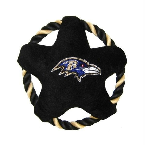 Keep Your Pet Entertained On Game Day With This Officially Licensed Baltimore Ravens Rope Disk Toy Is Designed W Fantasy Football Baltimore Ravens Nfl Fantasy