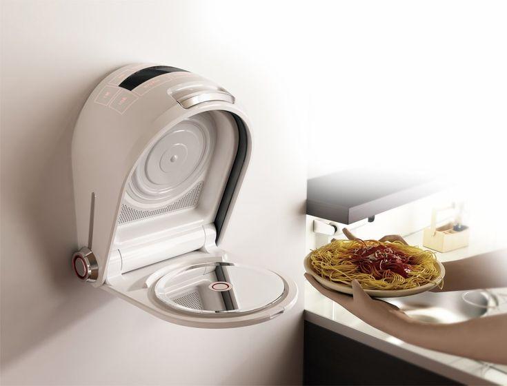 Innovative Wall-Mountable Microwave Oven