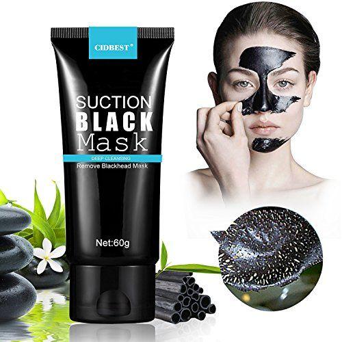 masque charbon point noir