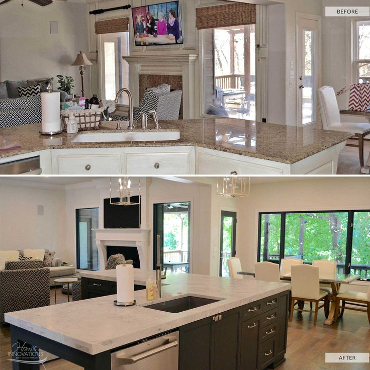26 Best Before & After Kitchen Remodels By Home