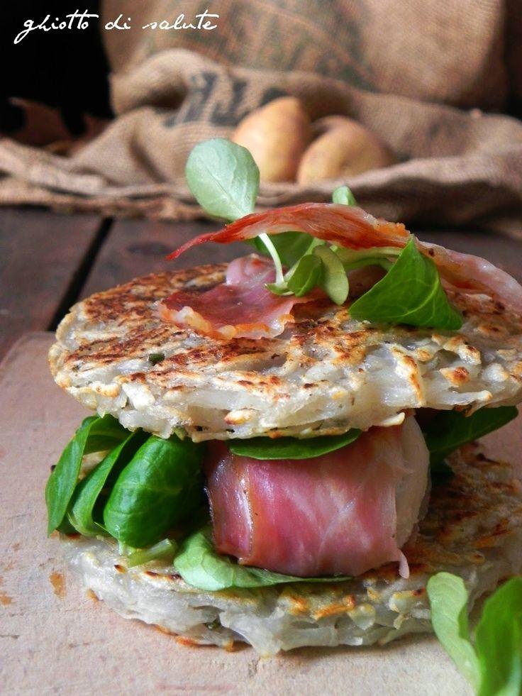 rosti burger per Taste& More