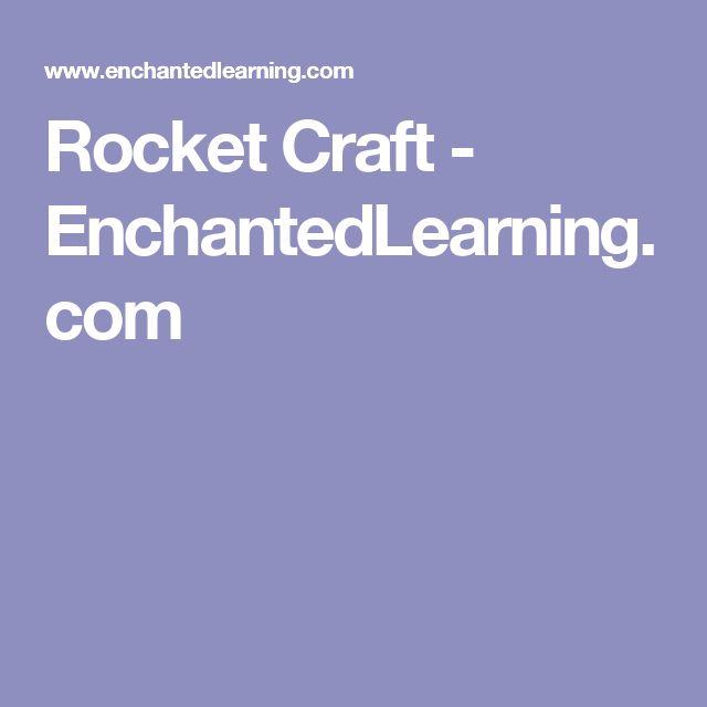 Rocket Craft - EnchantedLearning.com