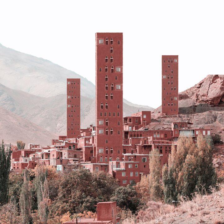 Imaginer des gratte-ciel dans l'architecture ancienne de l'Iran