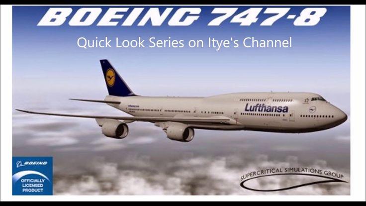 Xplane 10 SSG Boeing 747-8 quick look