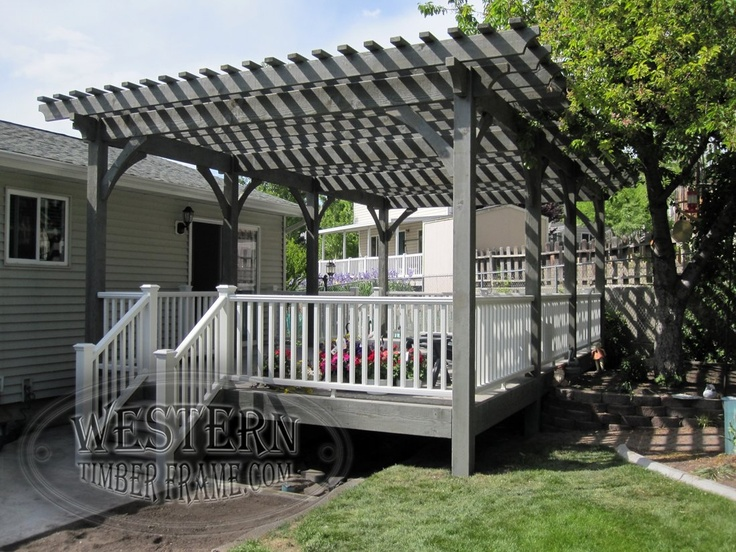 17 Best Ideas About Free Standing Pergola On Pinterest