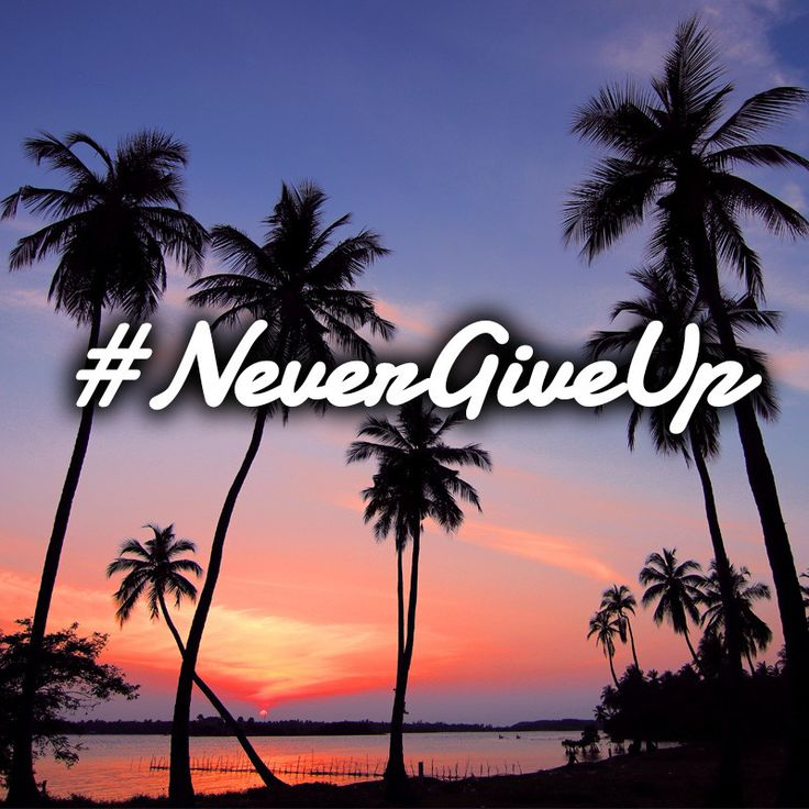 Good things come to people who believe, greater things come to those who are patient, and the greatest things come to individuals who don't give up. #NeverGiveUp