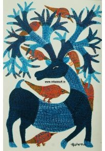Gond Tribal Art (India) | In Vibrant Colour