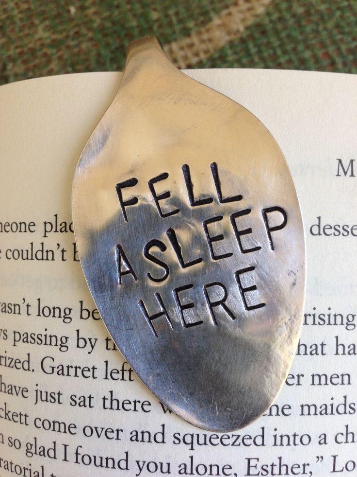 fell asleep here {bookmark}