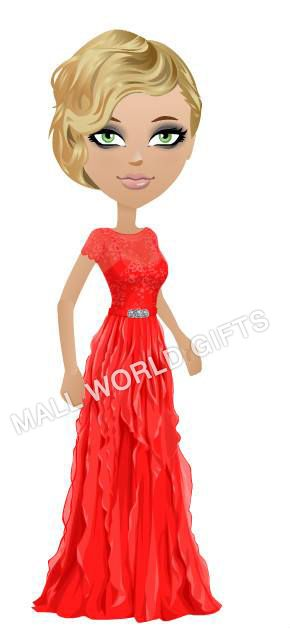 """PDD 64 """"Bella Scalloped Gown"""""""
