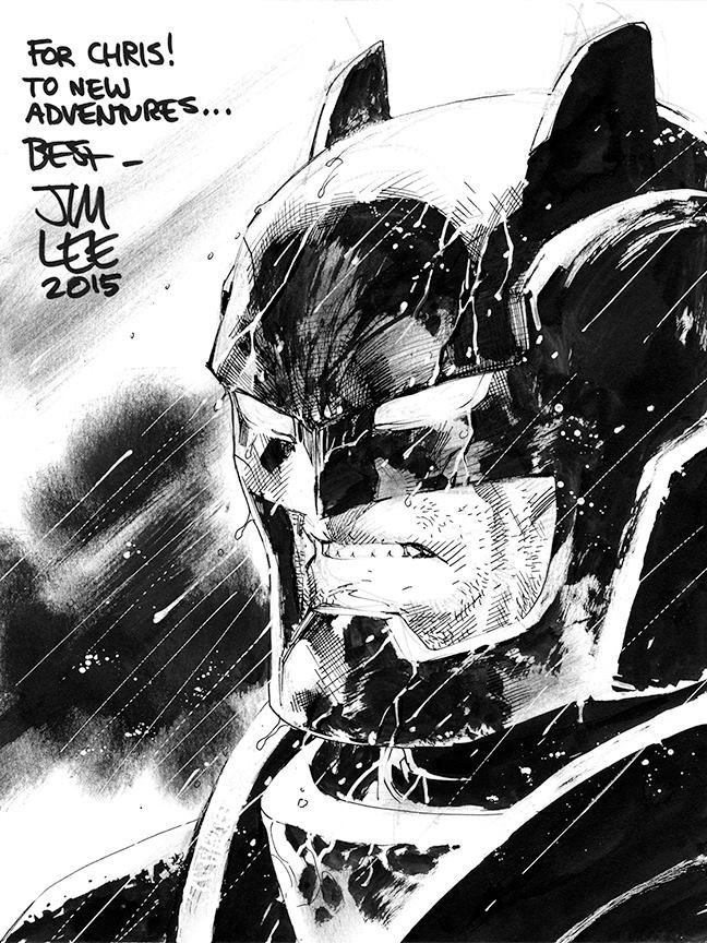 The Dark Knight - Batman by Jim Lee * - Art Vault