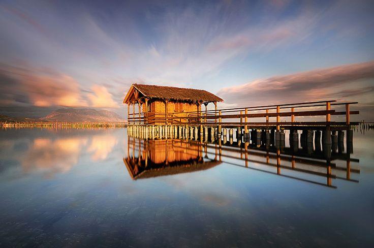 Mesolongi lagoon, Sterea Ellada.