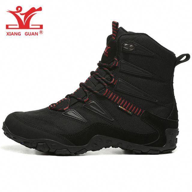 37f2606a3c4ff Man Hiking Shoes Men Outdoor Camping Tactical Boots Designer Snow  Waterproof Sport Climbing Mountain Hunting Trekking