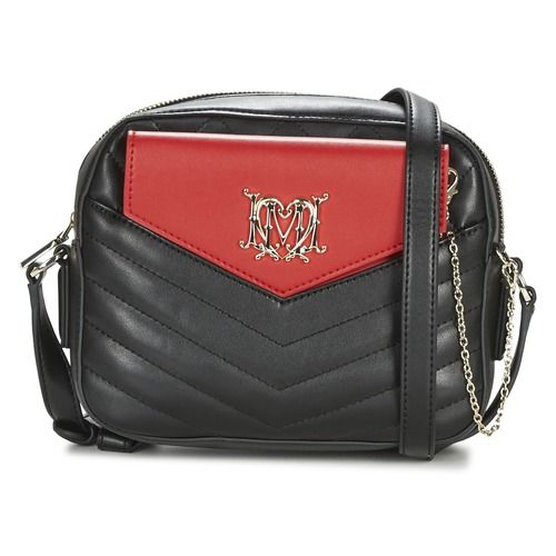 Love Moschino RAPIDE Black / Red - Δωρεάν Αποστολή στο Spartoo.gr ! - Τσάντες Τσάντες ώμου Woman 136,80 €