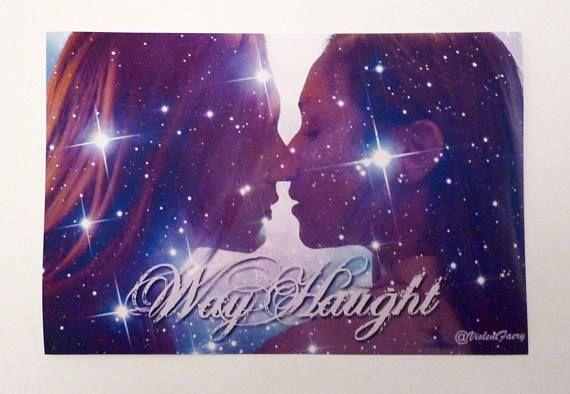 WayHaught Wavery Earp & Nicole Haught Wynonna Earp 10x15cm