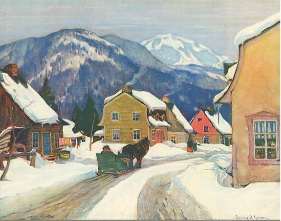 Baie St. Paul by Clarence Gagnon