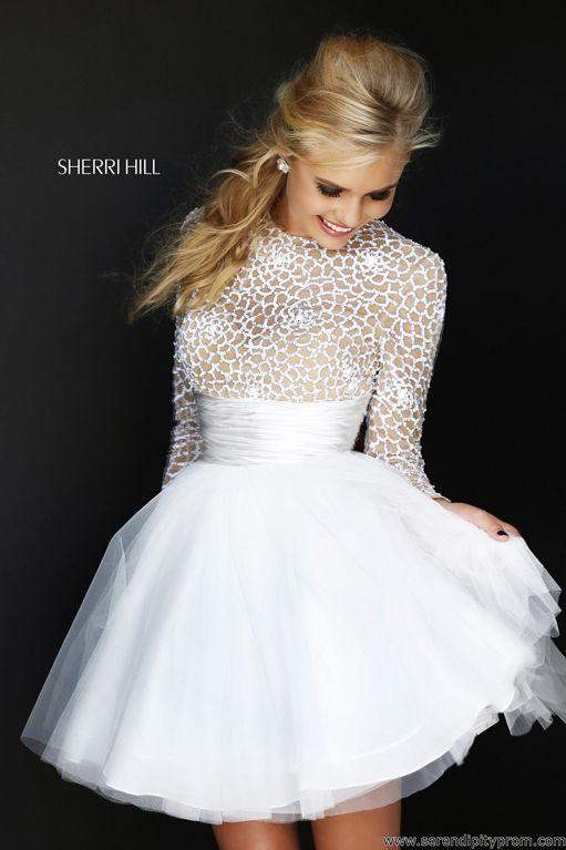 The 235 best Sherri Hill 2014 images on Pinterest | Formal dresses ...