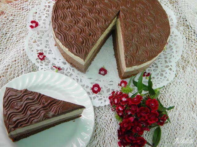 Aleda konyhája: Kávés-csokis mousse torta