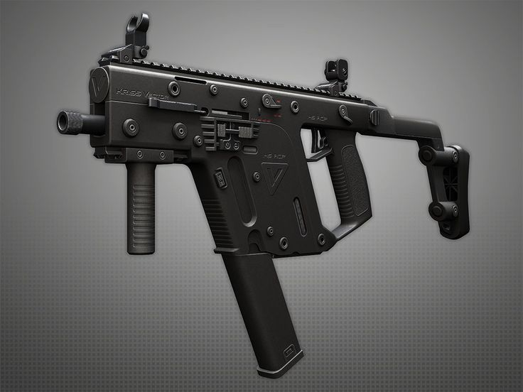KRISS Vector SMG, Pavel Kutejnikov on ArtStation at https://www.artstation.com/artwork/kriss-vector-smg-2bf027ba-ec1f-43d0-99a1-e2564c74c73d