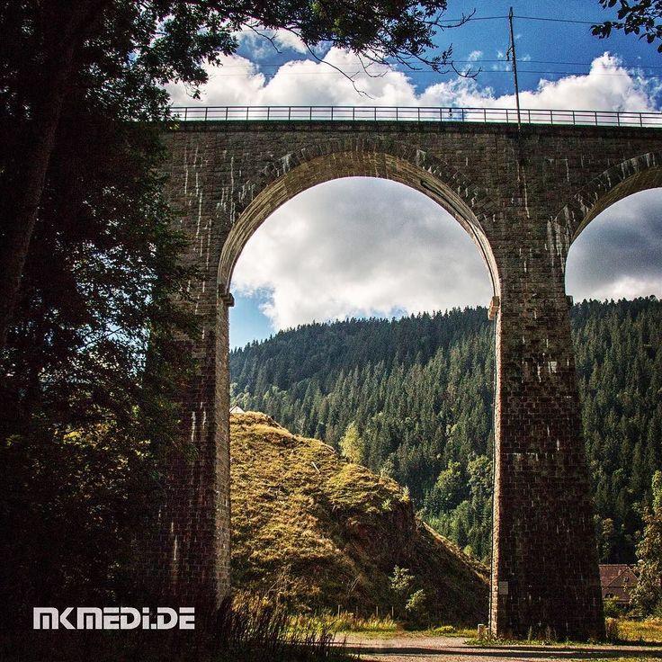 Markus Medinger Picture of the Day | Bild des Tages 22.09.2016 | www.mkmedi.de #mkmedi  #viadukt #bluesky #bridge #blauerhimmel #brücke  #ravenaschlucht #schwarzwald #badenwuerttemberg #germany #deutschland  #instagood #photography #photo #art #photographer #exposure #composition #focus #capture #moment  #365picture #365DailyPicture #pictureoftheday #bilddestages  @badenwuerttemberg @visitbawu @srs_germany @srs_nature @ehrlichschwarzwald @hochschwarzwald