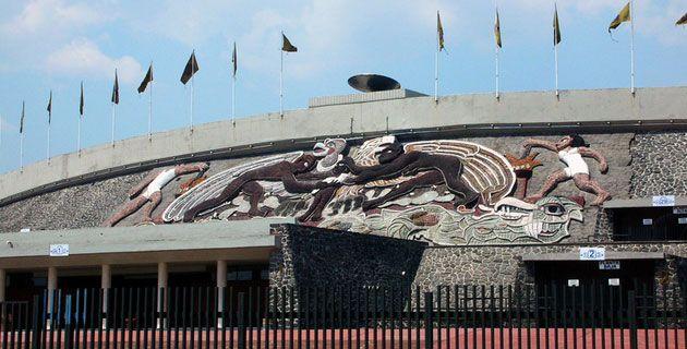 lugares para visitar en el df - estadio olímpico