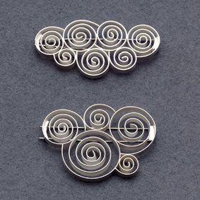 Brooches | Sabine Ziegler. Sterling Silver