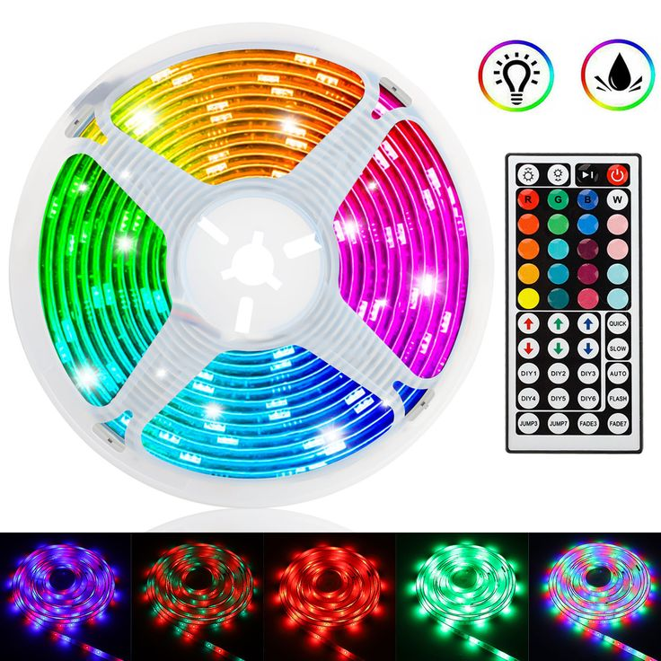 TSV 16.4ft/5M 300LED RGB Multicolor Changing Flexible LED