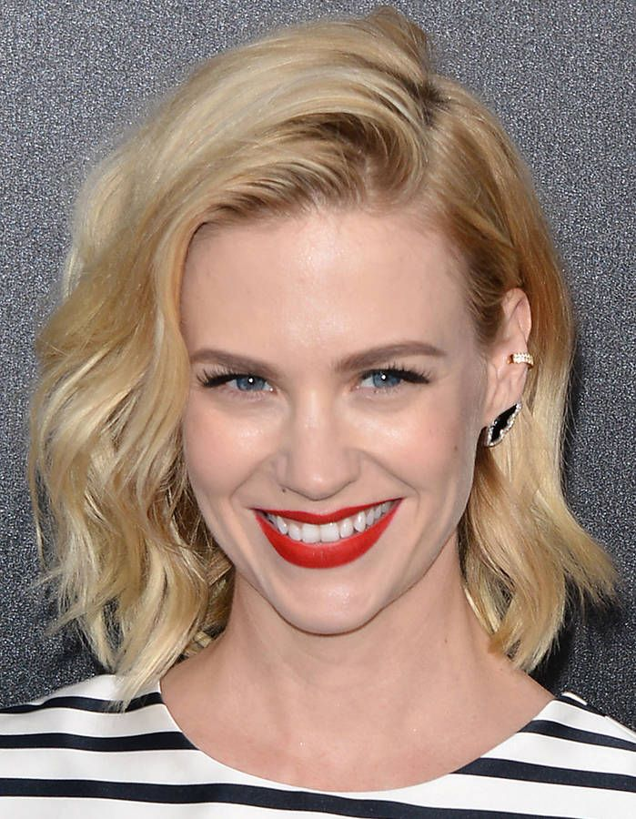 Le carré flou de January Jones