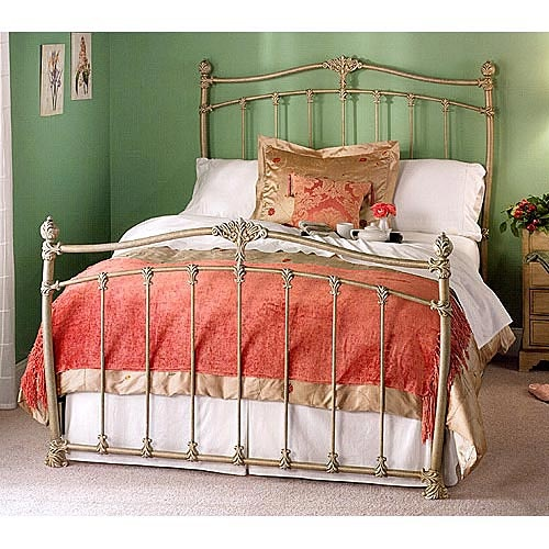 Wesley Allen Merrick Queen Headboard Iron bed, Bed, King