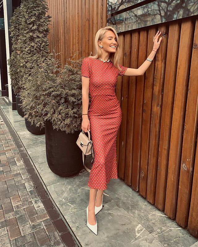 MOOD&STYLE&TREND: Best Polka Dots Outfits For Spring/Summer 2019!