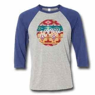 Hooey Women's Aztec Baseball T-Shirt – Keffeler Kreations | HilltopBoutique.com