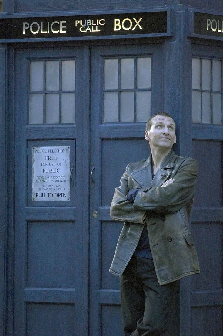 """I've started watching """"Doctor Who"""" with my boys from the beginning of its latest run, and we love it! (The ninth Doctor Who: Christopher Eccleston (2005))"""