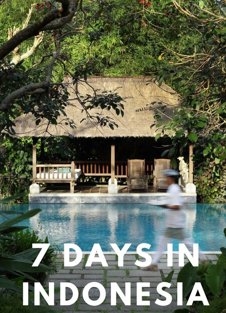 SEVEN DAYS IN INDONESIA