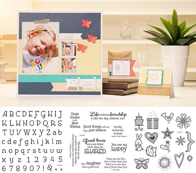 Get an exclusive You Are My Happy stamp set trio in celebration of National Stamping Month! Contact your Independent Consultant (or visit their Online Business Address) to place your qualifying order to snatch this darling stamp set trio--available during the month of September only!