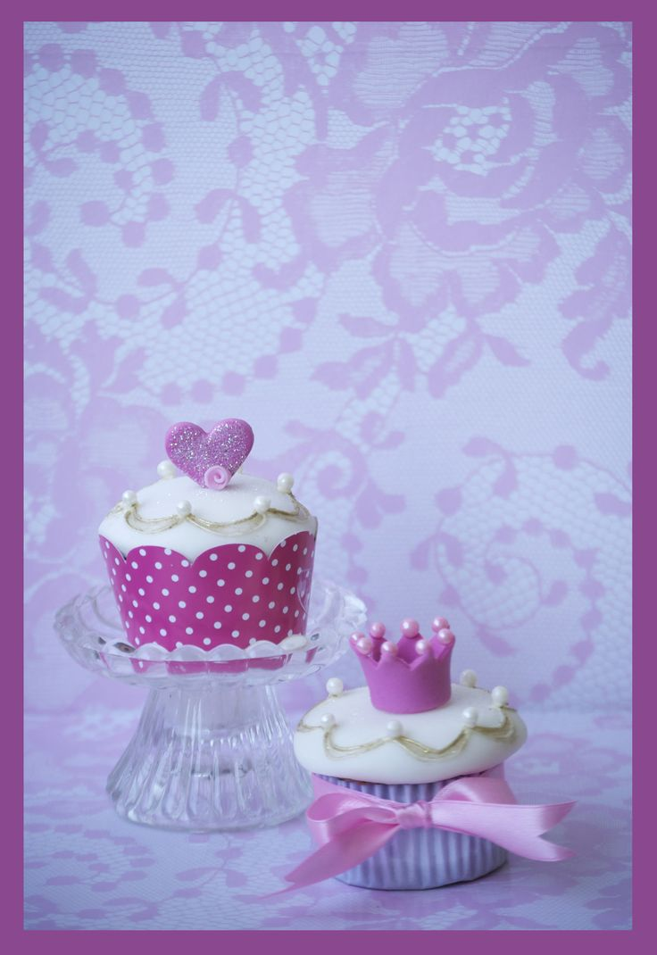 Cupcakes the princes.