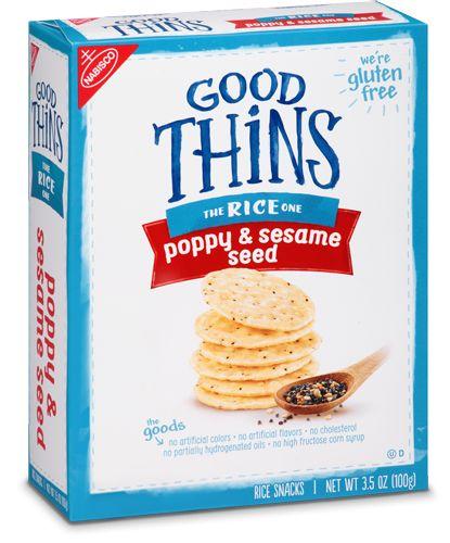 Poppy & Sesame Seed | Gluten Free Snacks | GOOD THiNS