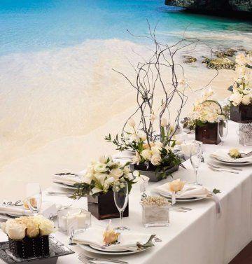 tropical Flower Arrangements Centerpieces   Blog - Langkawi Wedding & Event Planner