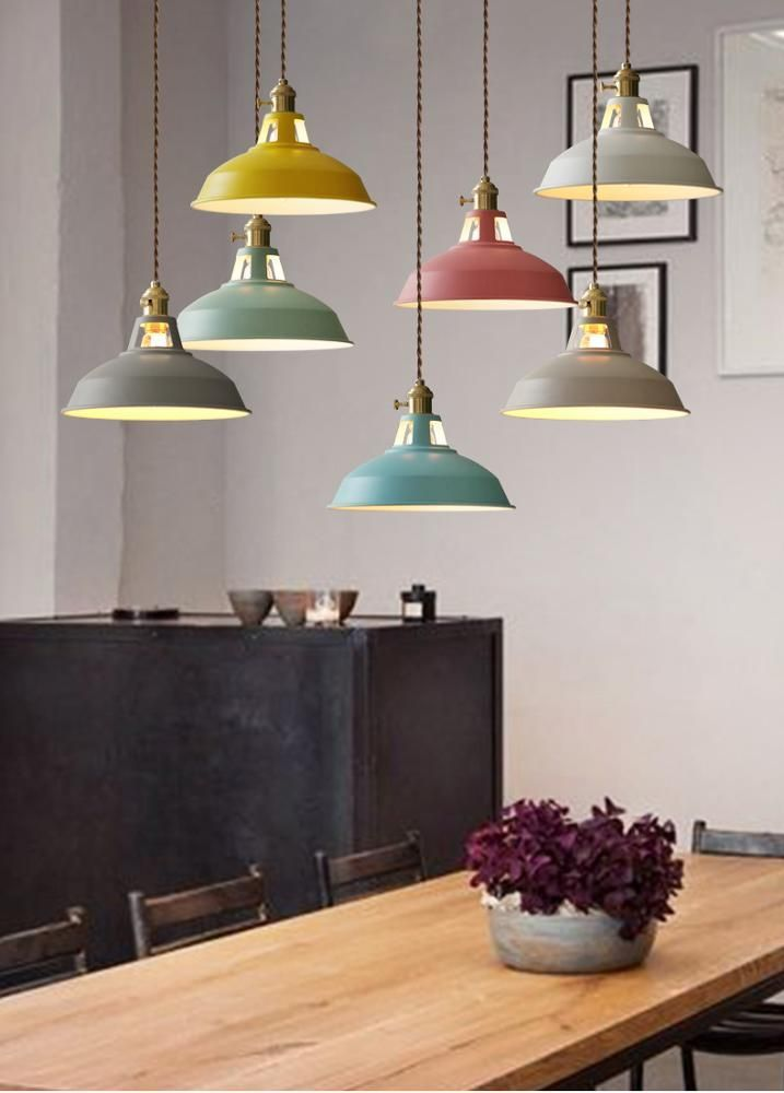 2019 New Design Nordic Modern Creative Macaron Style Led Pendant