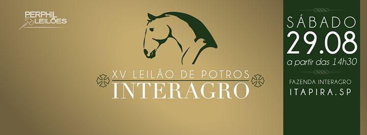XV LEILÃO DE POTROS INTERAGRO