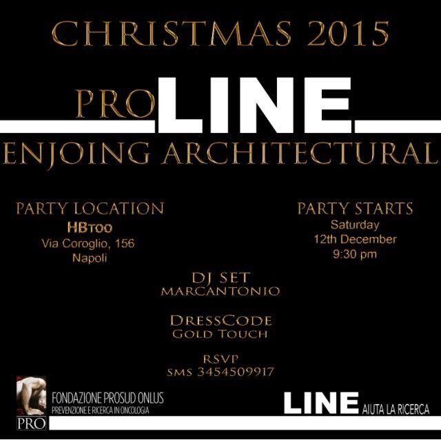All' HBToo l'evento di beneficenza PRO LINE Enjoying Architectural | Report Campania