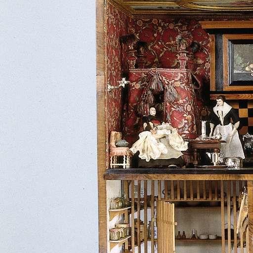 Dollhouse Miniatures Amsterdam: Dolls' House Of Petronella Dunois, Anoniem, C. 1676
