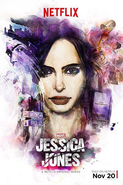 """Постер сериала """"Джессика Джонс"""""""