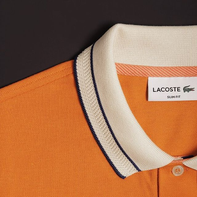 #Fall is for orange. #MyLacostePolo