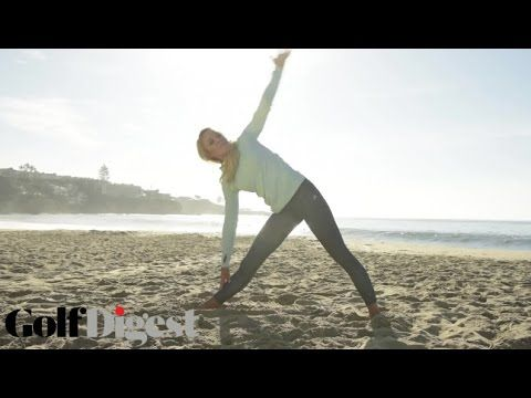 Back Exercises for Golfers with Natalie Gulbis   Golf Digest - YouTube