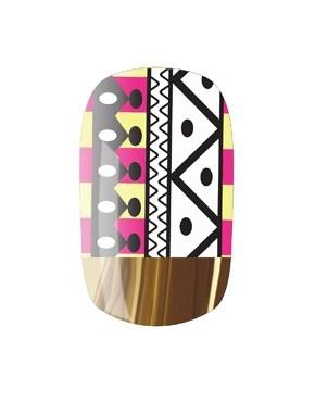 Aztec nails: Nails Art, Nail Wraps, Nails Ahol, Nailrock Com Easy, Nails Rocks, Nail Art, Nails Wraps, Diy Nails, Aztec Nails