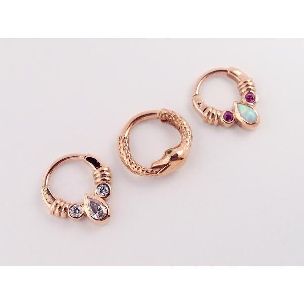 Piercing schmuck rose gold